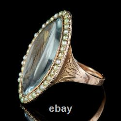 Antique Georgian Mourning Ring 18ct Gold 3 Year Old Child Dated 1788