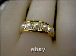 Victorian Mourning Ring 18ct gold UK- N Dec 4 1878 Beautiful Condition Antique