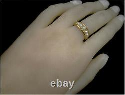 Victorian Mourning Ring 18ct Or Uk- N Dec 4 1878 Belle Condition Antique